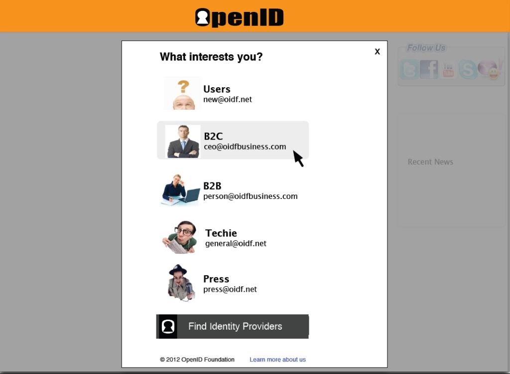 OpenIDFoundation Learn more about us